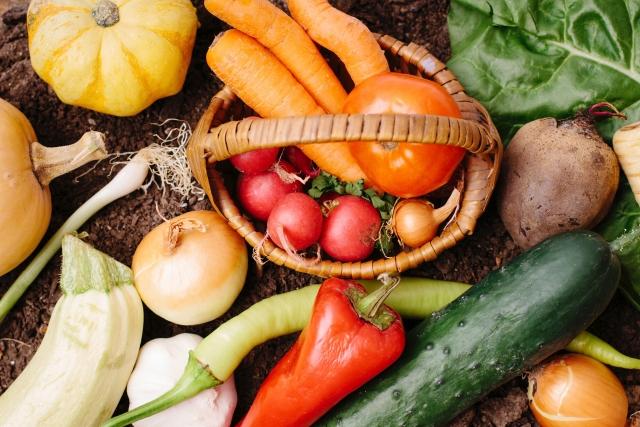 筋トレ中の食事では野菜も摂る