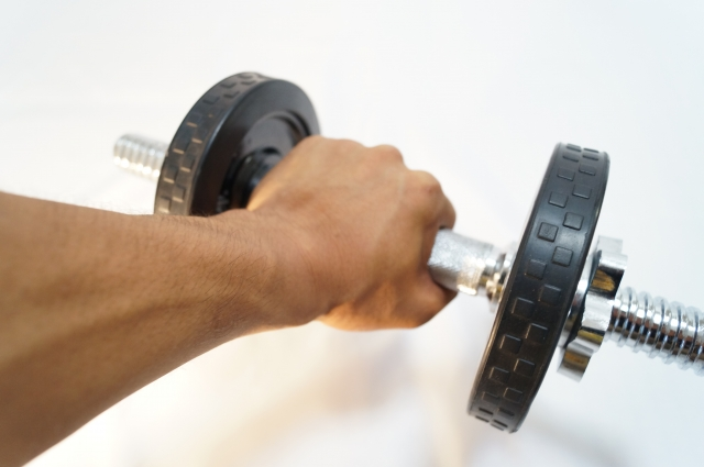 筋肉の負荷