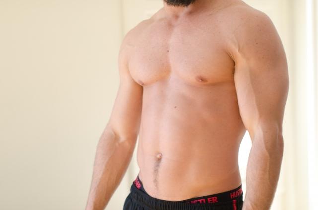 筋肉の密度