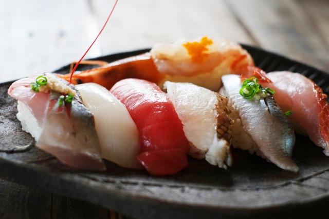 筋トレと寿司