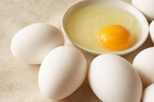 筋トレと卵