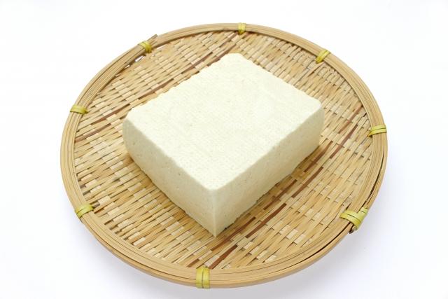 筋トレと豆腐