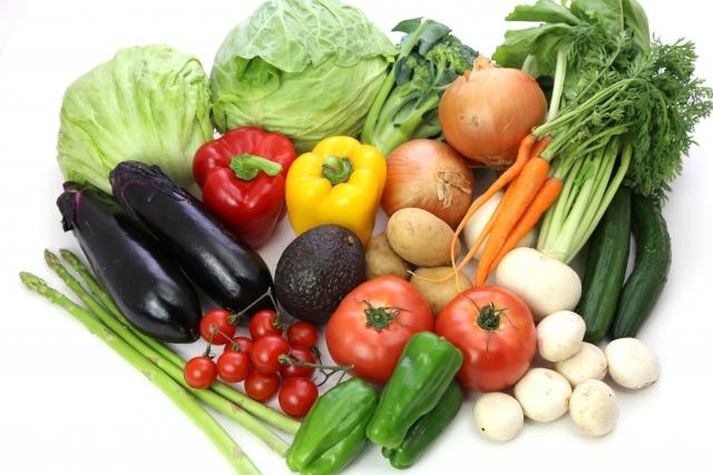 筋トレと野菜